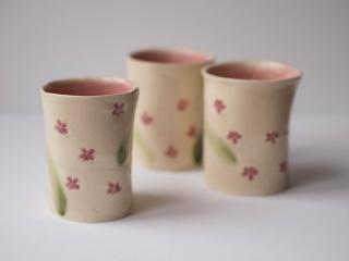 湯呑み(桜)